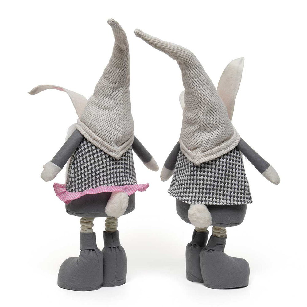 Bunny Gnome w/ Telescoping Legs - Perfectly Posh Boutique
