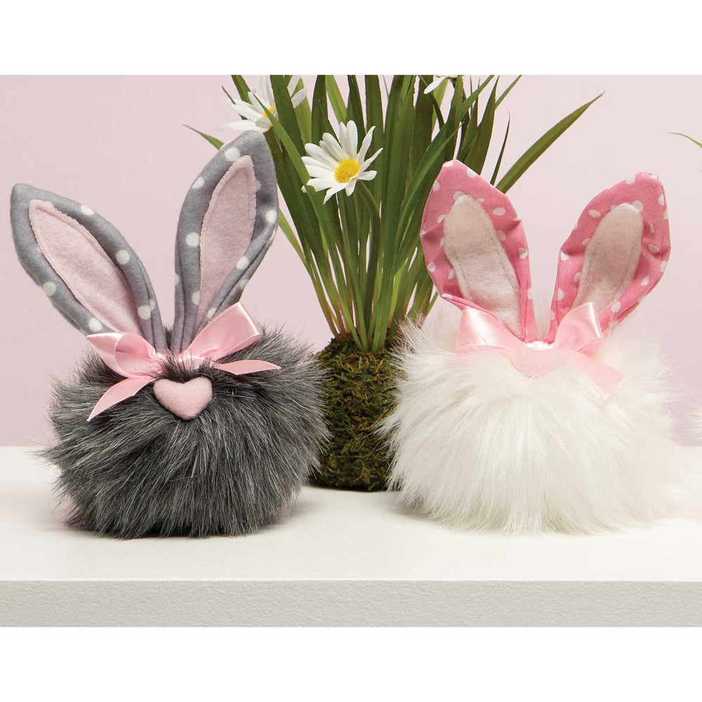 Pindot Cottontails with Polka Dots
