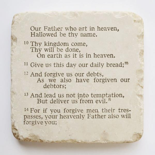 The lord's prayer-Twelve stone art-large-block
