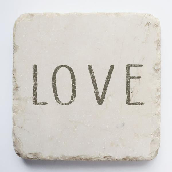 Twelve stone art-small block-Love