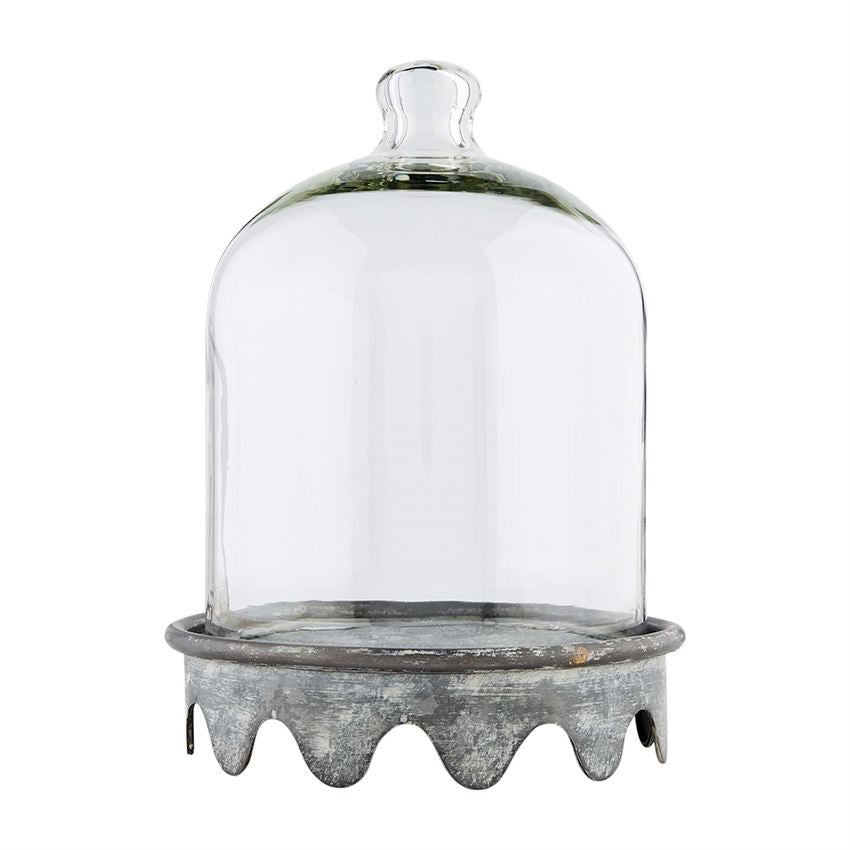 Scalloped Tin Cloche