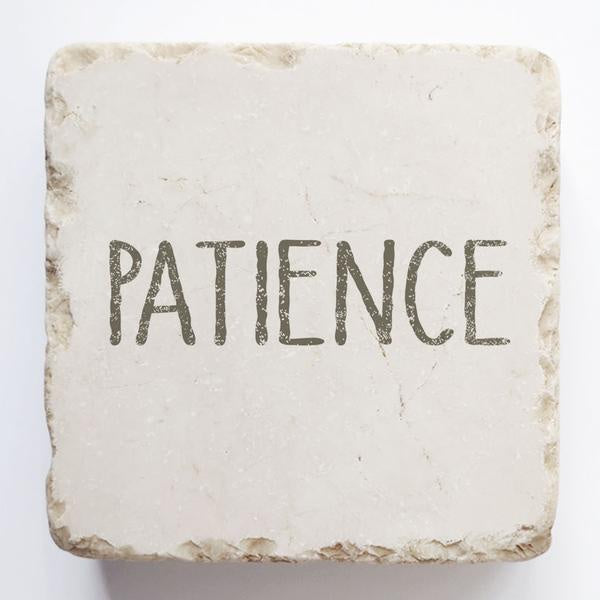 Twelve stone art-small block-Patience - Perfectly Posh Boutique