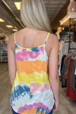 Tiffany Tie Dye Tank - Perfectly Posh Boutique