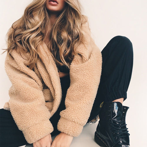 Gisele - Women's Faux Fur Coat
