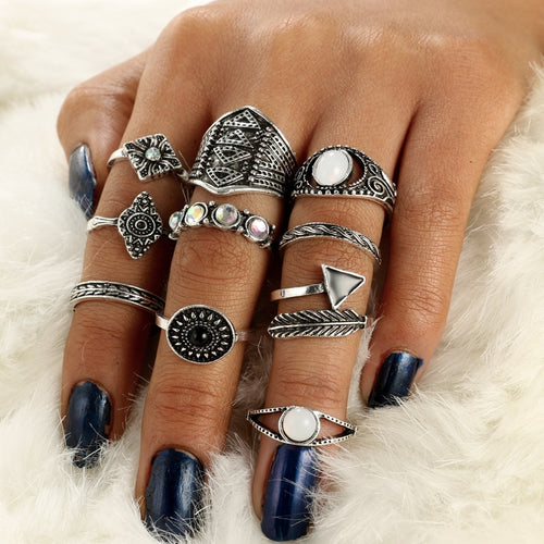 Boho Vintage Knuckle Rings