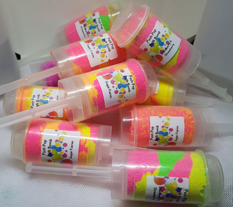 Push Pop Bath Bombs