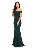 Off Shoulders Long Ity dress- LA5194