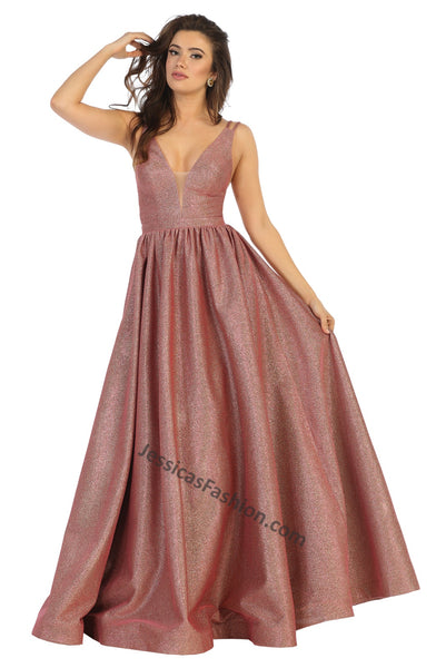 Shoulder Straps Long Ity Dress With Side Pockets - RQ7748