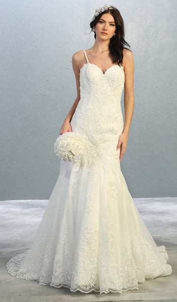 Formal Wedding Bridal Gown And Plus Size