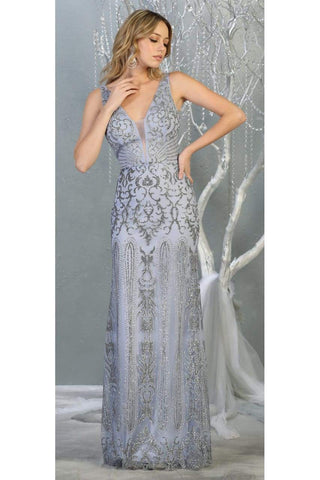 Special Occasion Long Formal Gown And Plus Size