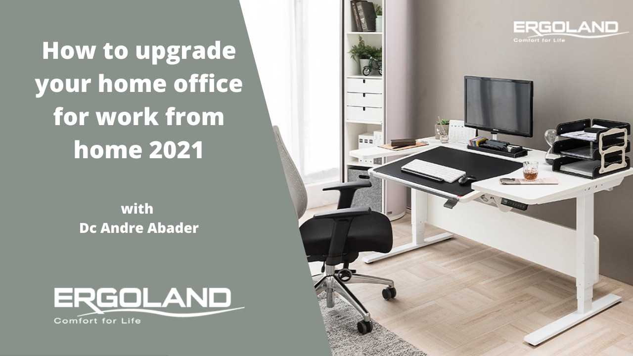 How to upgrade your home office for work from home 2021 picture