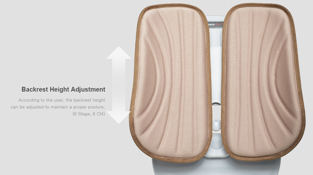 Duorest Auto backrest height adjustment
