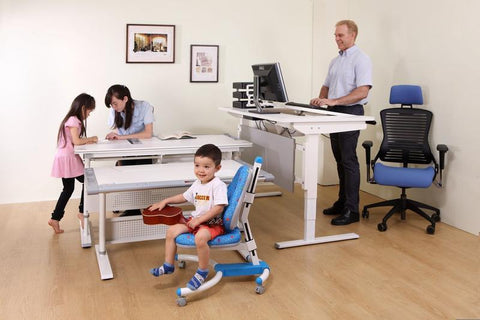 Ergonomic workstation for children and adults