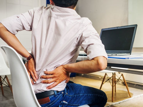Malaysian office workers with back pain