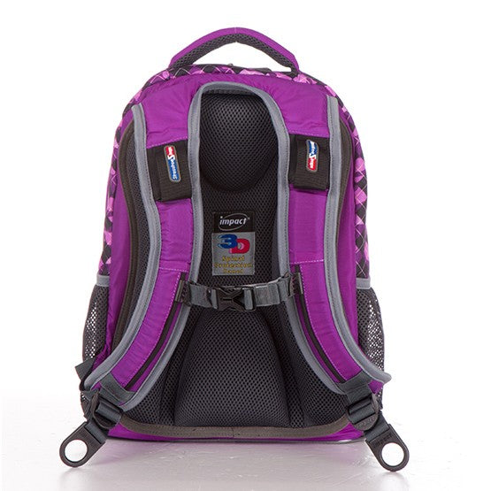Impact Backpack (IPEG-082) Purple 3D Spinal Protection System