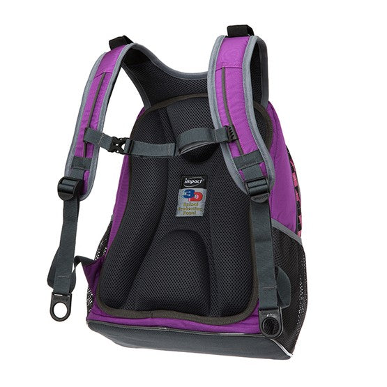 Impact Backpack (IPEG-082) Purple 3D Spinal Protection System 2