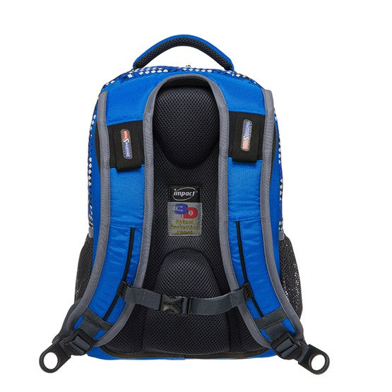 Impact Backpack (IPEG-082) Blue 3D Spinal Protection System