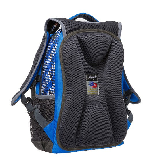 Impact Backpack (IPEG-082) Blue 3D Spinal Protection System 2