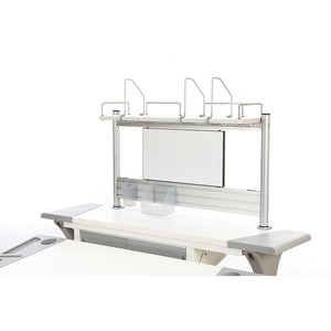 Book Shelf With White Board