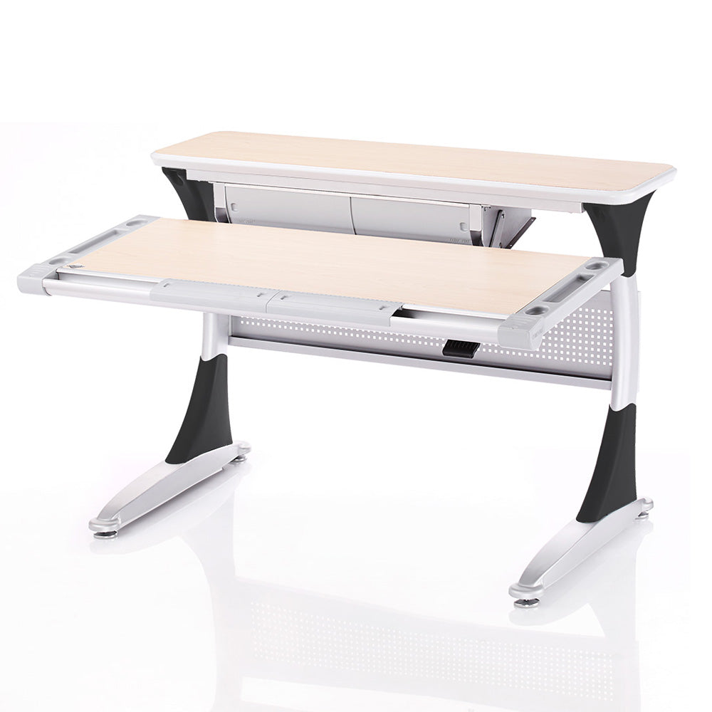 Ergo-Smart Desk Maple Grey