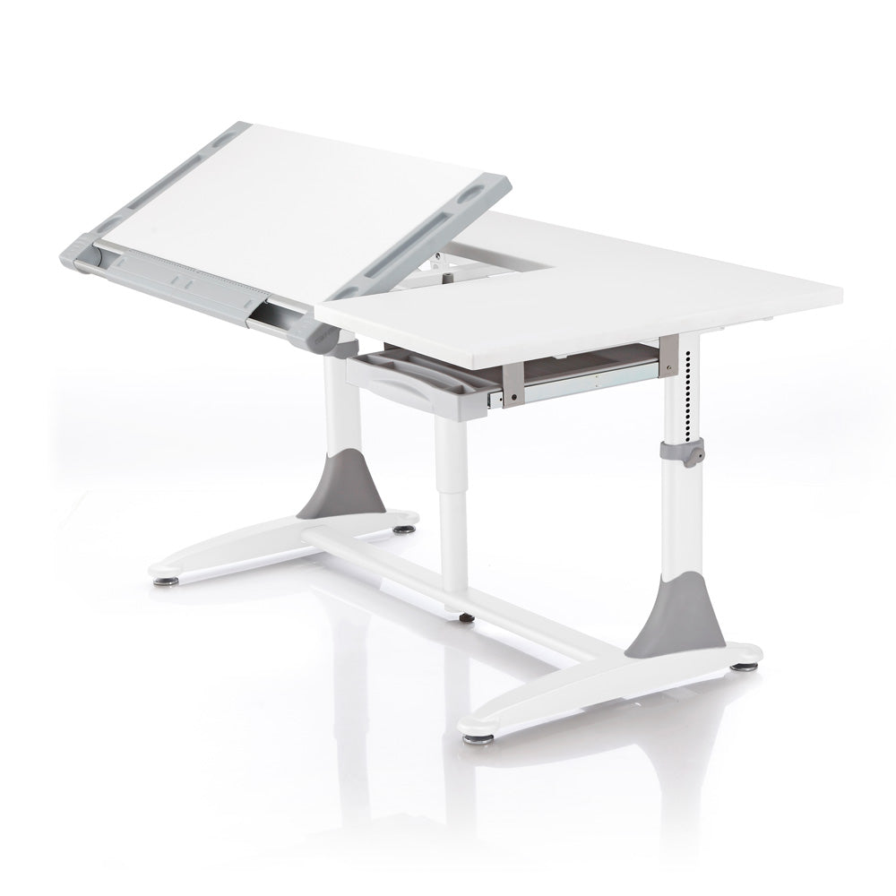 BD368 Ergonomic Elite Desk angled