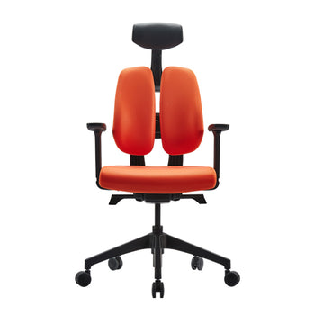Duorest D200 Ergonomic Chair Orange