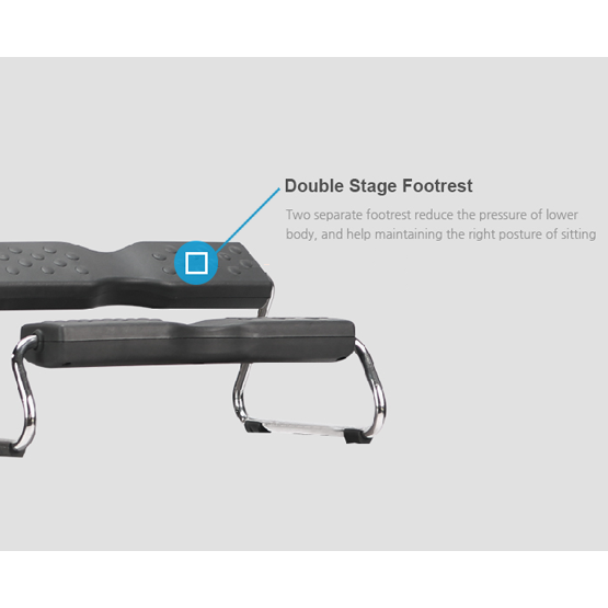 EZ Footrest Double Stage Footrest