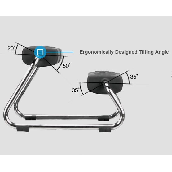 EZ Footrest Ergonomically Designed Tilting Angle
