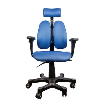 Duorest Leader Collection Ergonomic Chair Blue