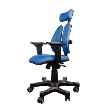 Duorest Leader Collection Ergonomic Chair Blue 2