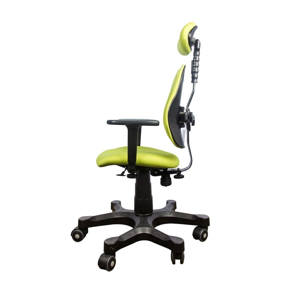 Lady Collection Ergonomic Chairs Green side view
