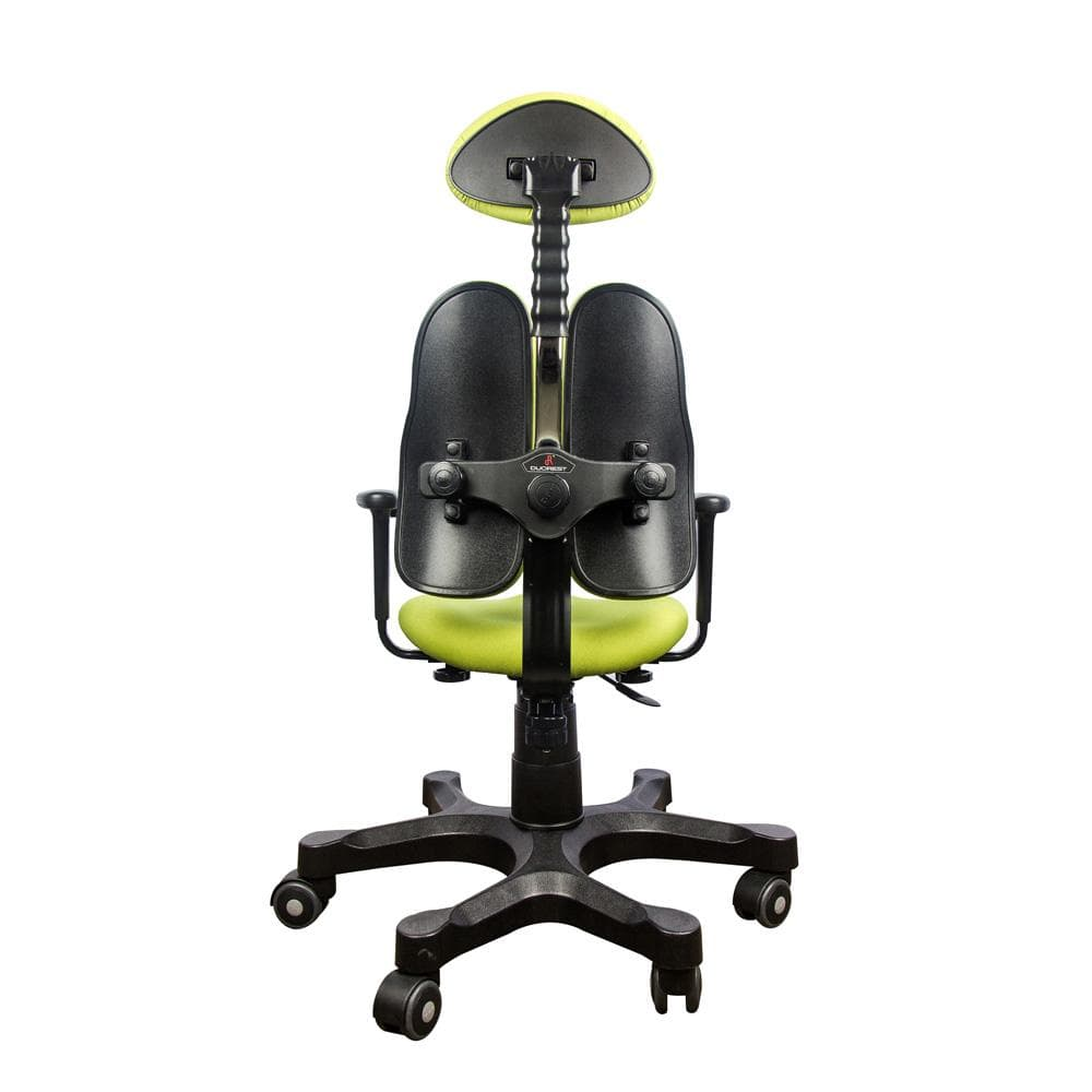 Lady Collection Ergonomic Chairs Green back side