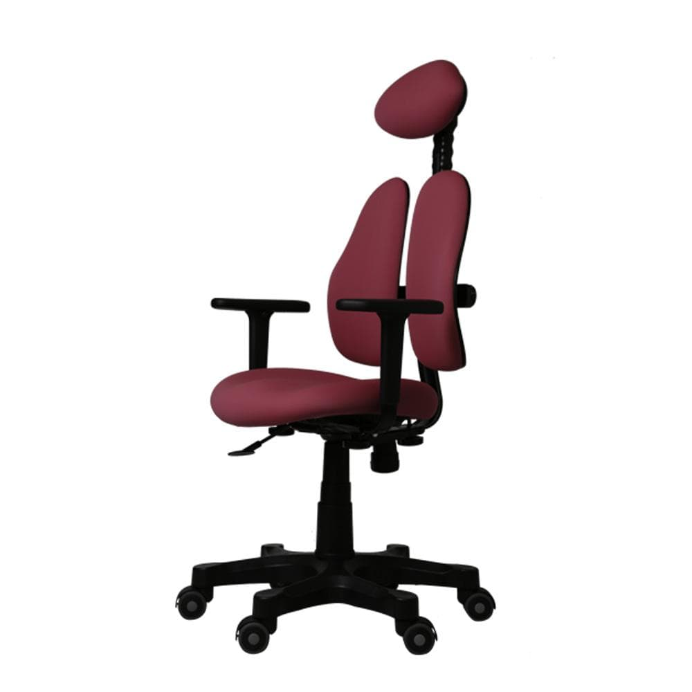 Lady Collection Ergonomic Chairs Red side