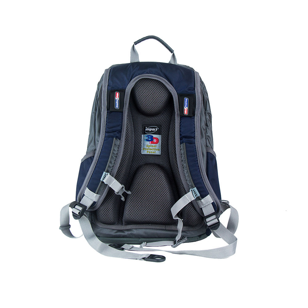 Impact Backpack (IPEG-062) Navy 3D Spinal protection