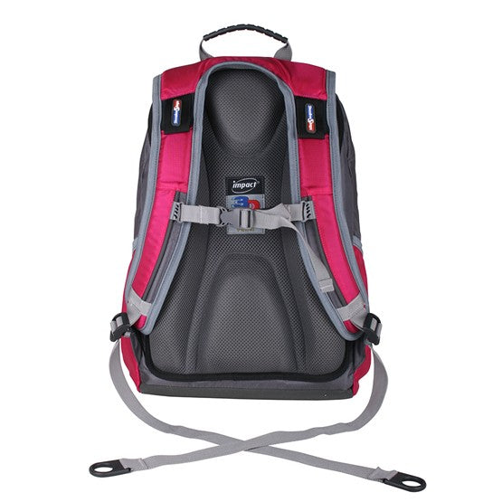 Impact Backpack (IPEG-062) Pink 3D Spinal protection
