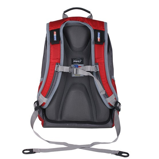 Impact Backpack (IPEG-062) Red 3D Spinal protection
