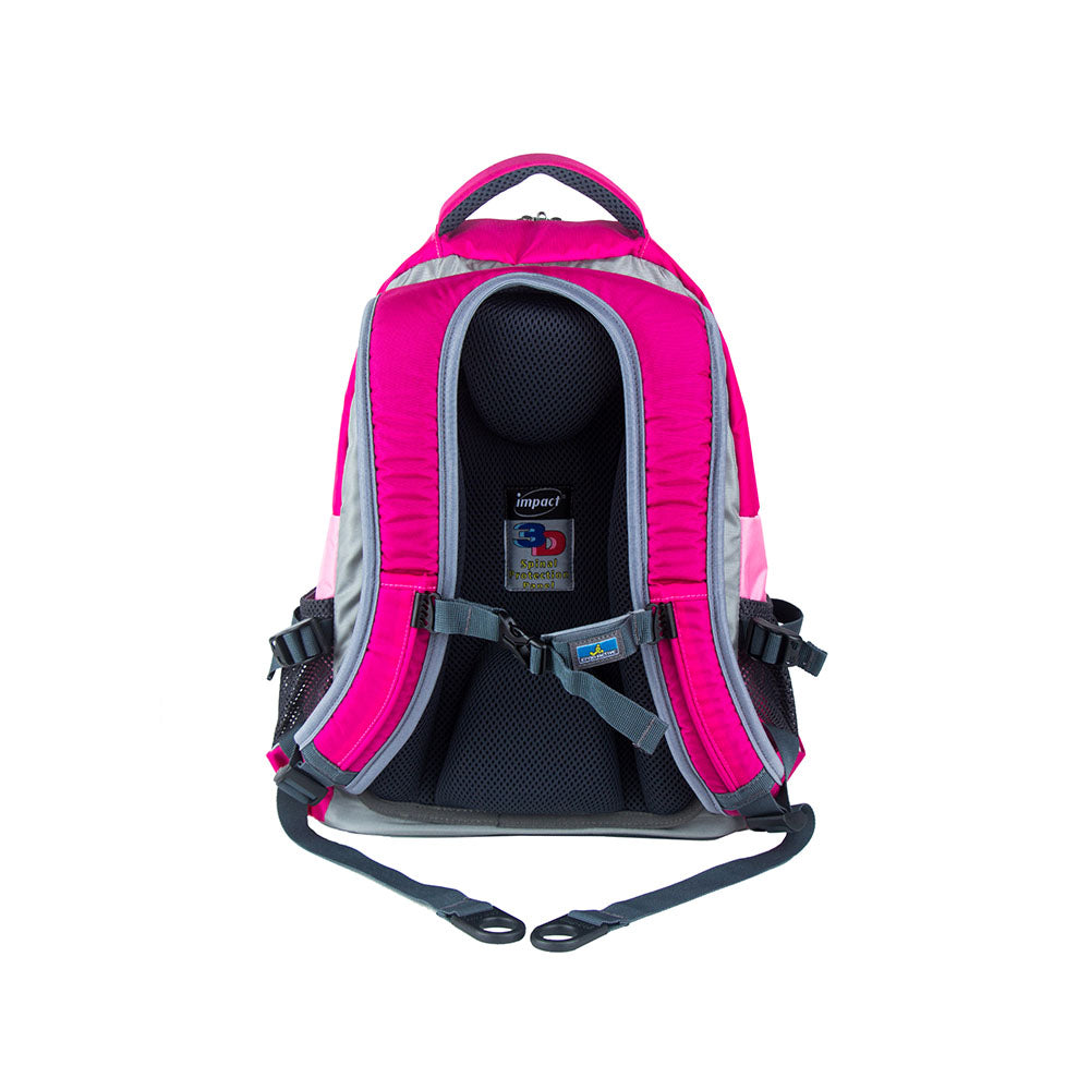 Impact Backpack (IPEG-321) Pink 3D Spinal Protection System