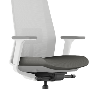 Krede K10 ergonomic chair (Light Grey frame with Grey cushion)