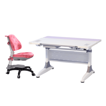 KM2 Desk and K318 Cupid Chair Pink Love