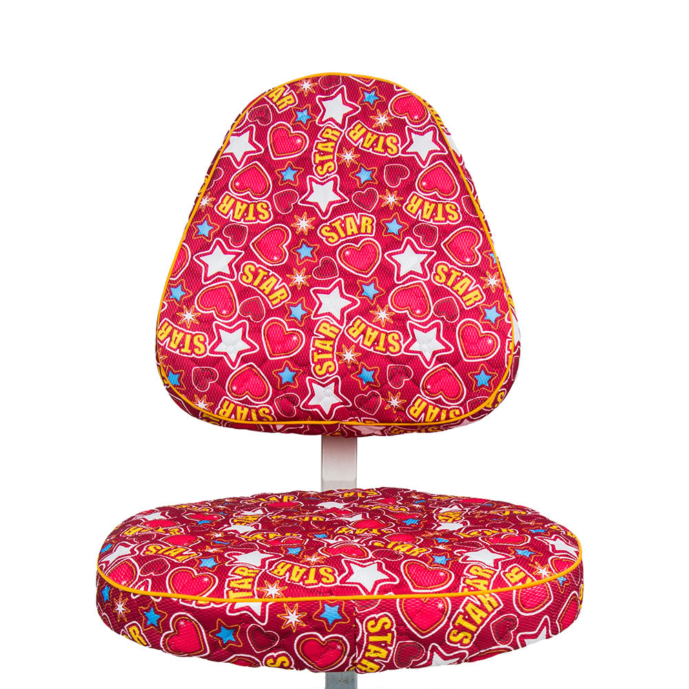 KM Red Star Chair Cover 5
