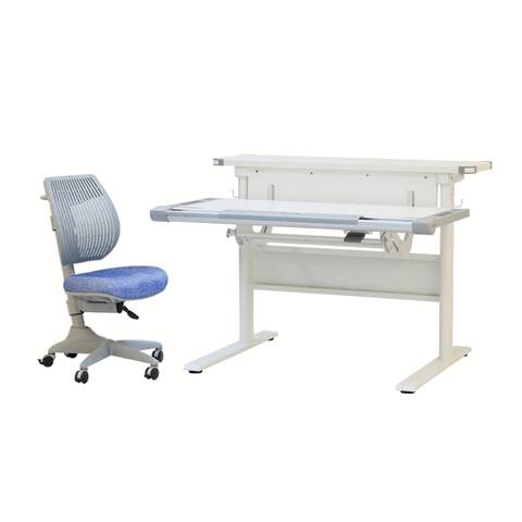 Ergonomic table and chair M17 + Speed ultra chair