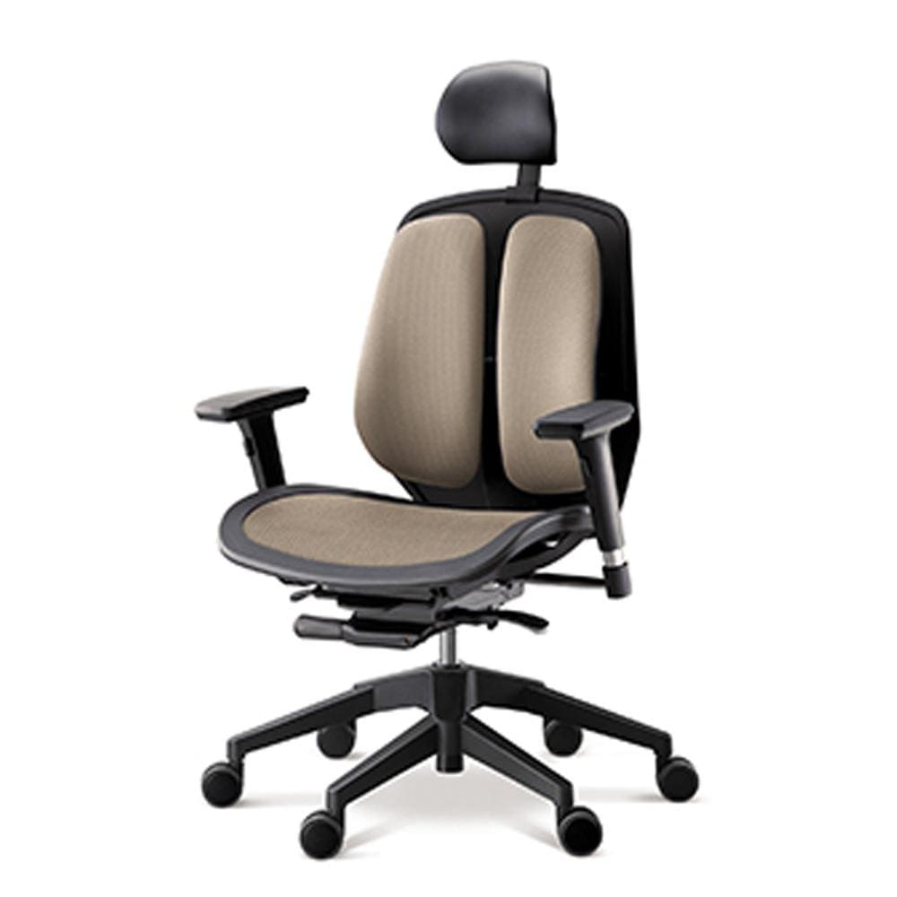 Alpha ergonomic chair mesh brown