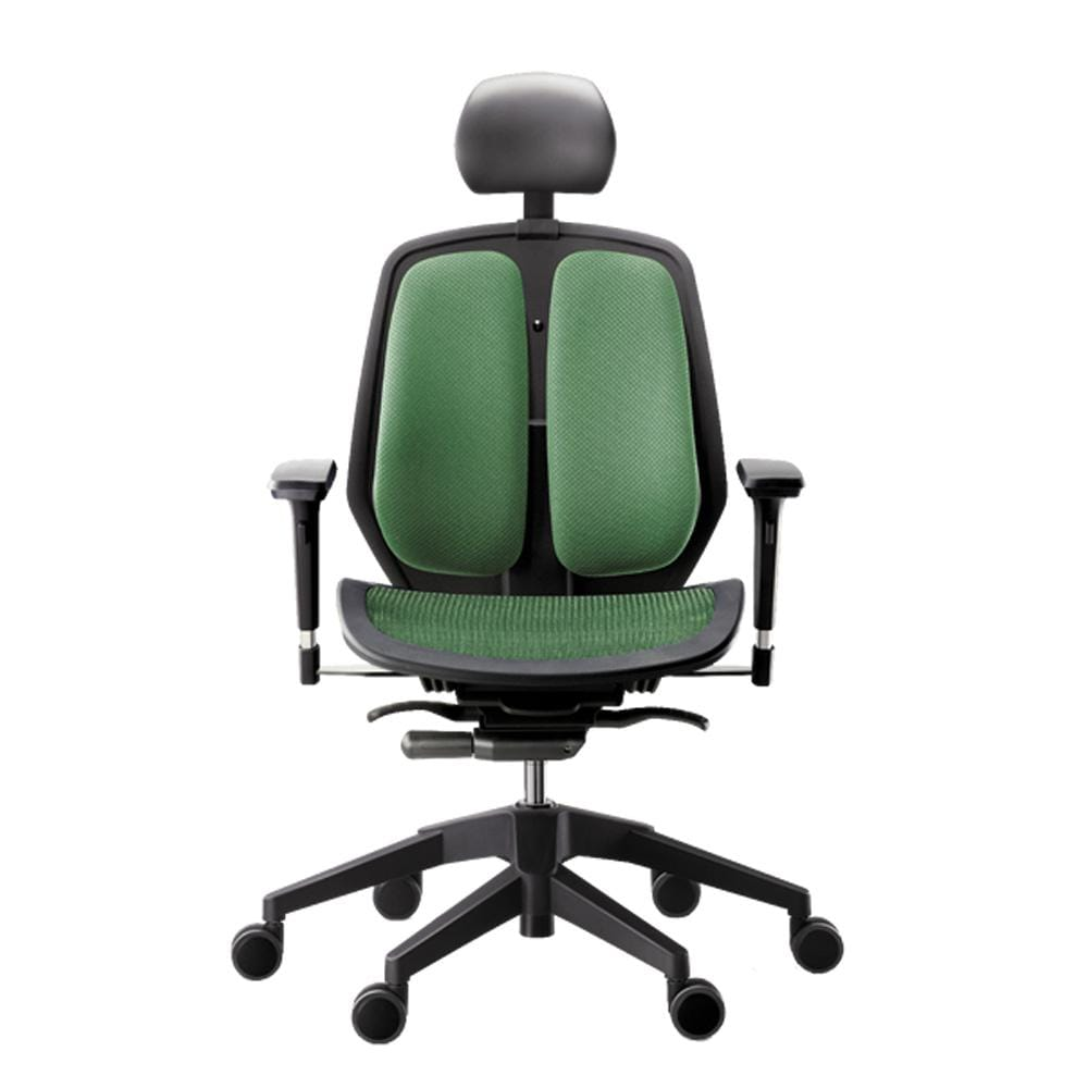 Alpha ergonomic chair mesh green