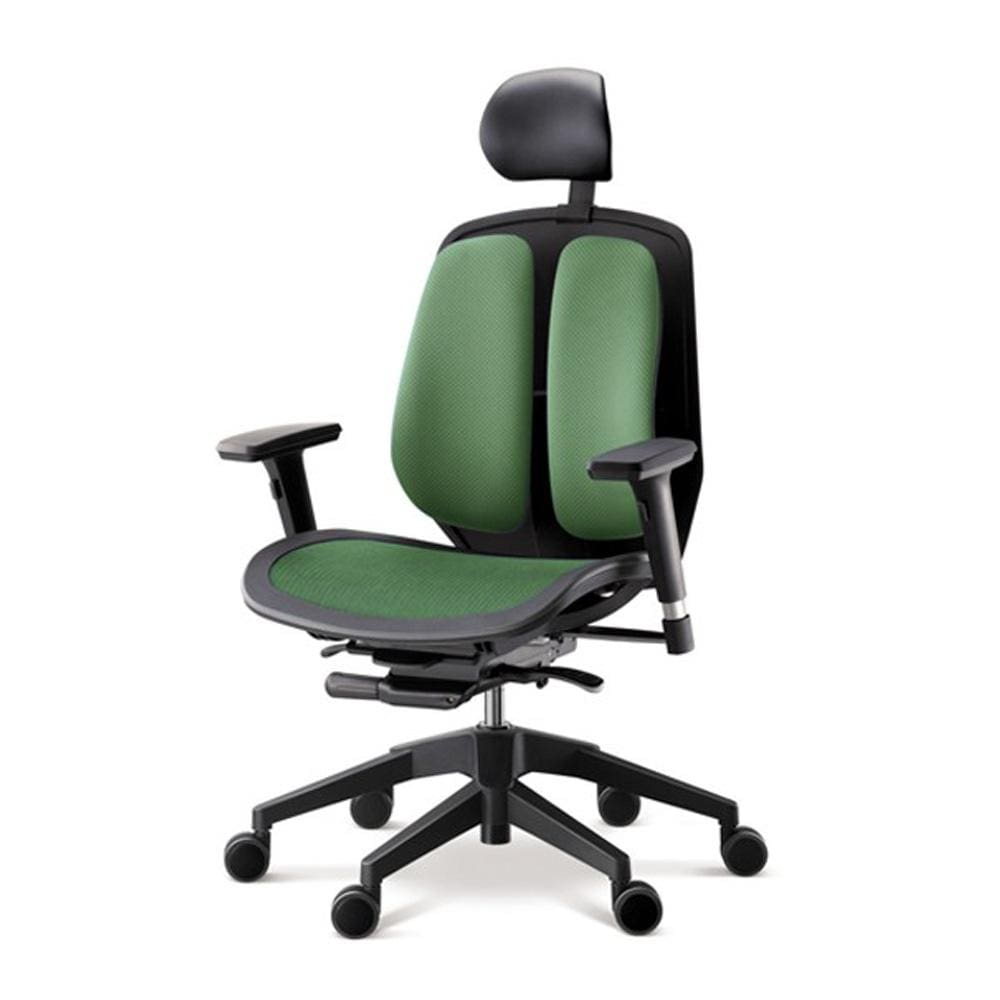 Alpha ergonomic chair mesh green 2