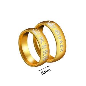 Crown Couple Ring - FREE (limited time)