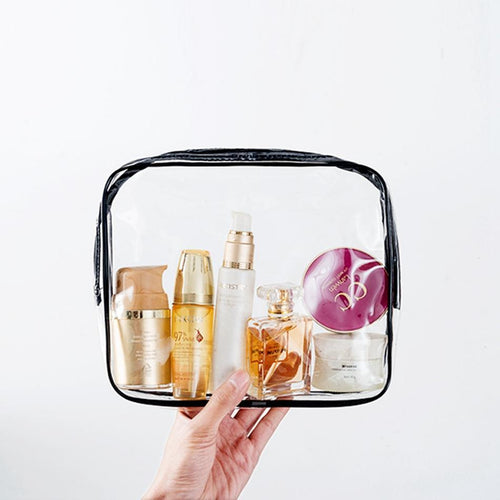 Transparent Travel Kit - Malibu Coastal