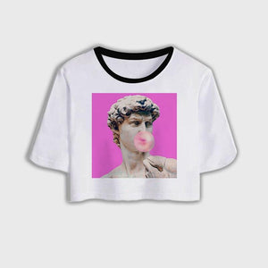 Michael Angelo Aesthetic Crop Top - FREE - Malibu Coastal