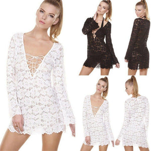 Summer Glaze Lace Beach Dress - FREE (Limited Time Offer) - Malibu Coastal