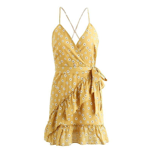 Carina Sundress - Malibu Coastal
