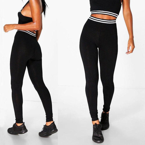 Adriana High Waist Leggings - Malibu Coastal
